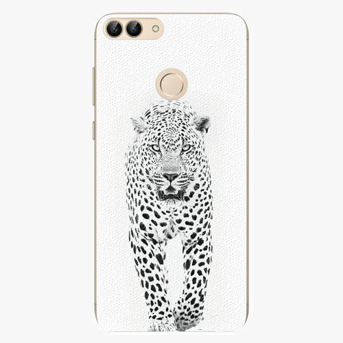 Silikonové pouzdro iSaprio - White Jaguar - Huawei P Smart