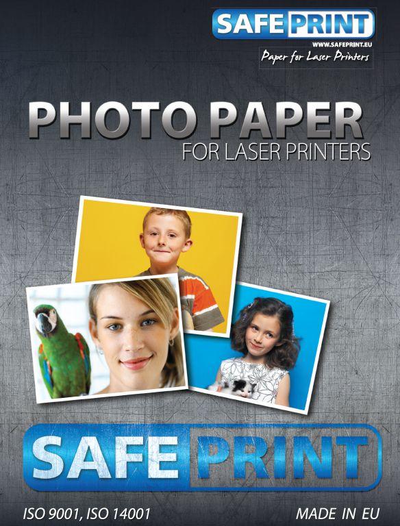 Papír Safeprint foto pro laserové tiskárny A4 lesklý, 200 g/m2, 10ks