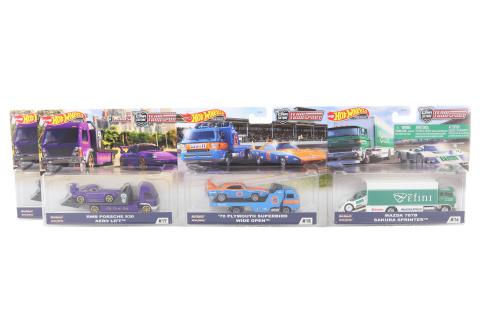 Hot Wheels Týmový náklaďák FLF56