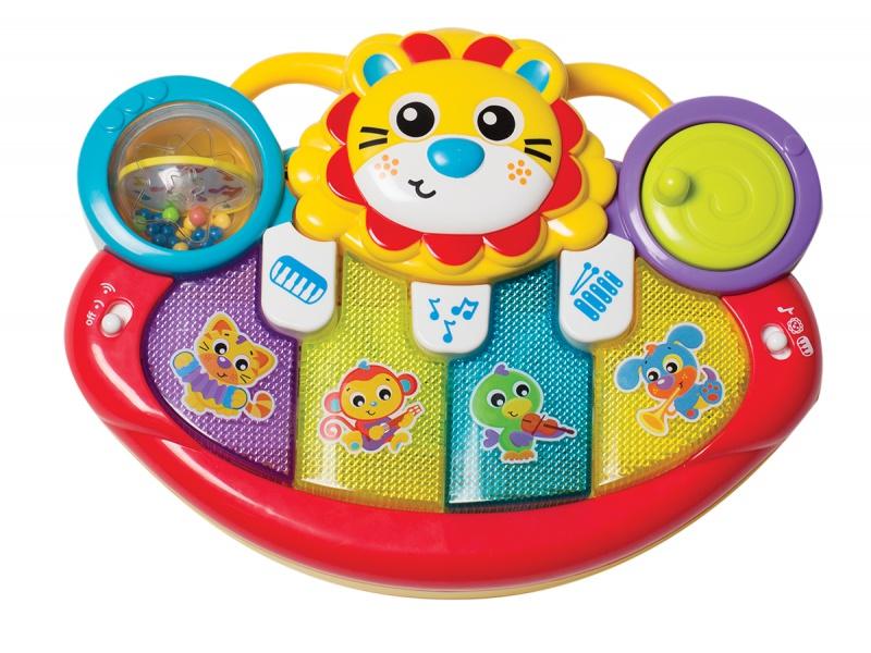 Playgro - Multifunkční hudební nástroj lvíček