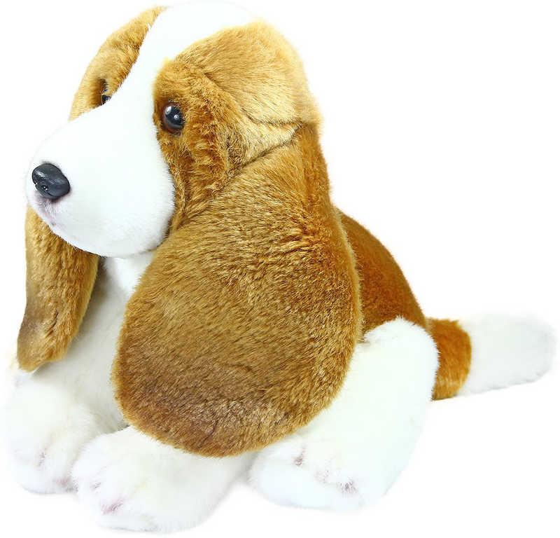 PLYŠ Pes Bígl sedící 20cm *PLYŠOVÉ HRAČKY*