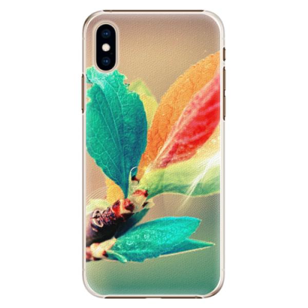 Plastové pouzdro iSaprio - Autumn 02 - iPhone XS