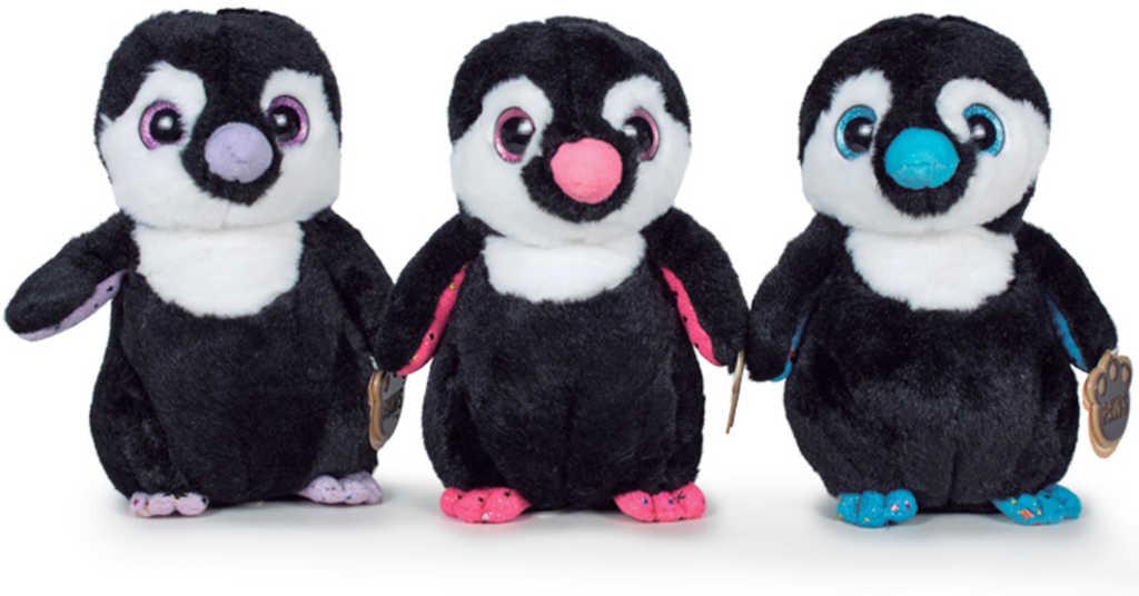 PLYŠ Baby tučňák stojící 22cm velké oči různé barvy *PLYŠOVÉ HRAČKY*