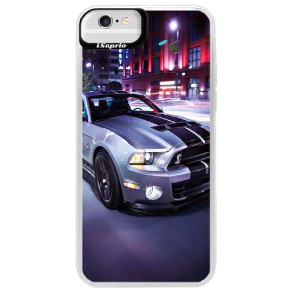 Neonové pouzdro Blue iSaprio - Mustang - iPhone 6 Plus/6S Plus