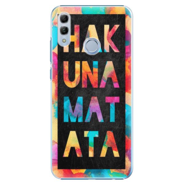 Plastové pouzdro iSaprio - Hakuna Matata 01 - Huawei Honor 10 Lite