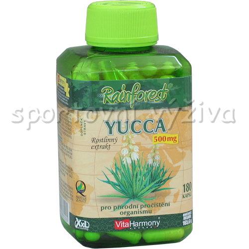 Yucca 500mg 180 kapslí