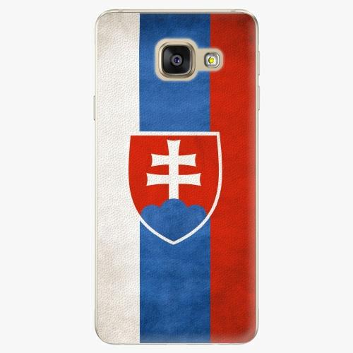 Plastový kryt iSaprio - Slovakia Flag - Samsung Galaxy A3 2016