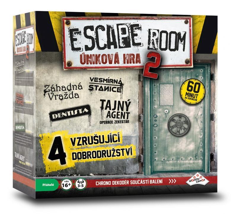 Hra úniková - ESCAPE ROOM 2