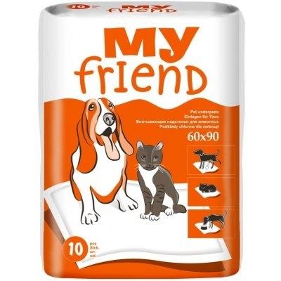 Podložky pro psy a domácí zvířata 90x60 cm 10 ks