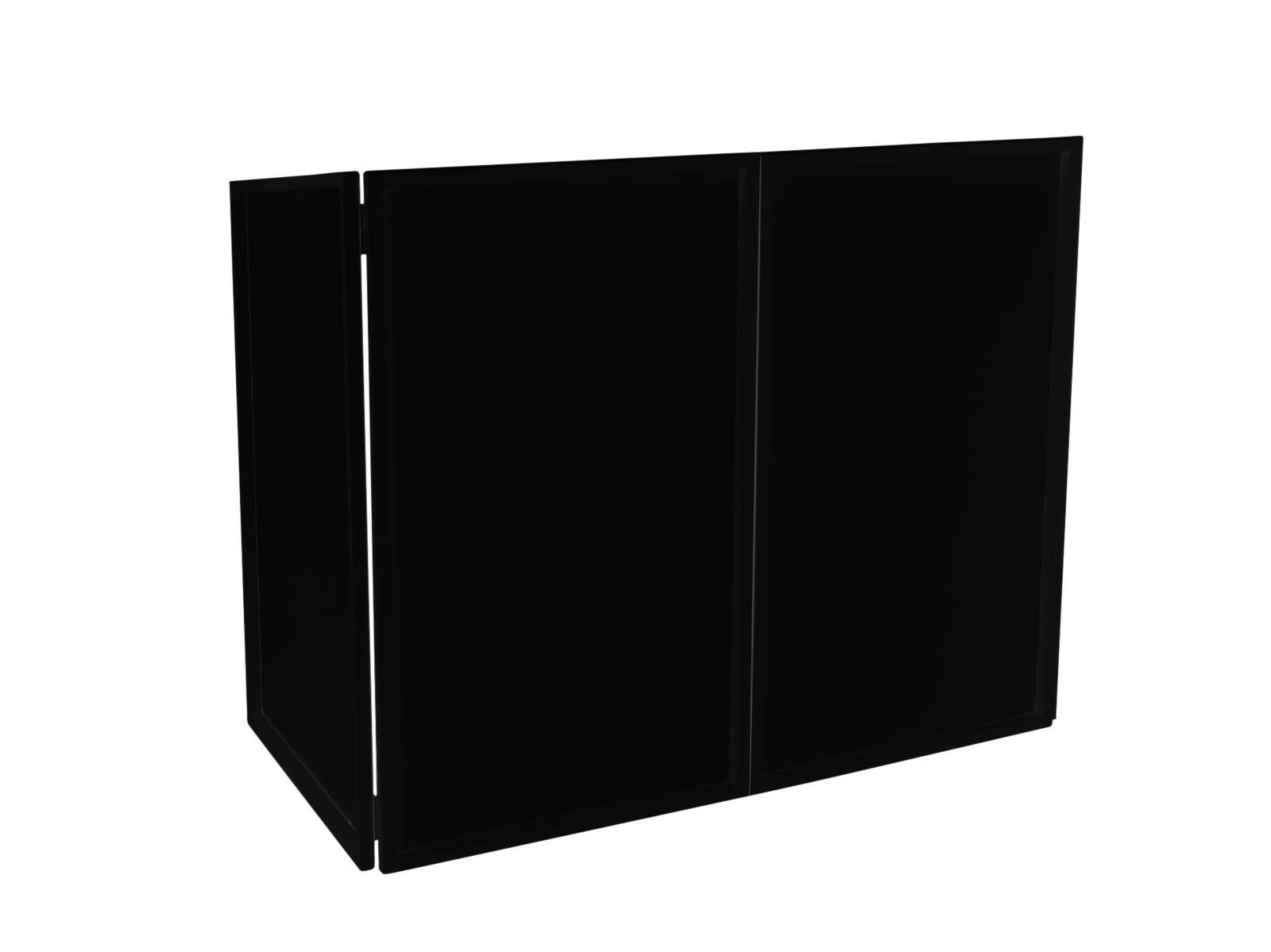 Omnitronic kryt pro DJ Booth, černý
