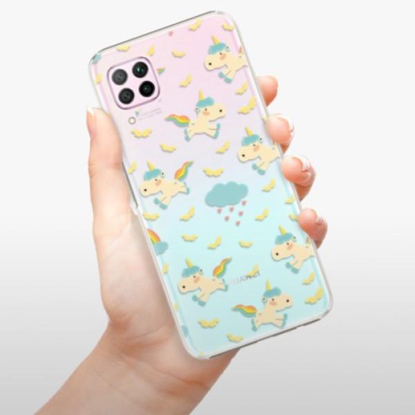Plastové pouzdro iSaprio - Unicorn pattern 01 - Huawei P40 Lite
