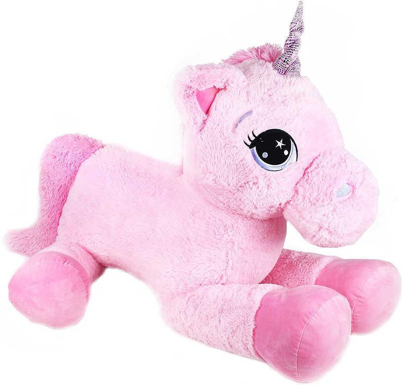 PLYŠ Jednorožec koník Koki 130cm růžový *PLYŠOVÉ HRAČKY*