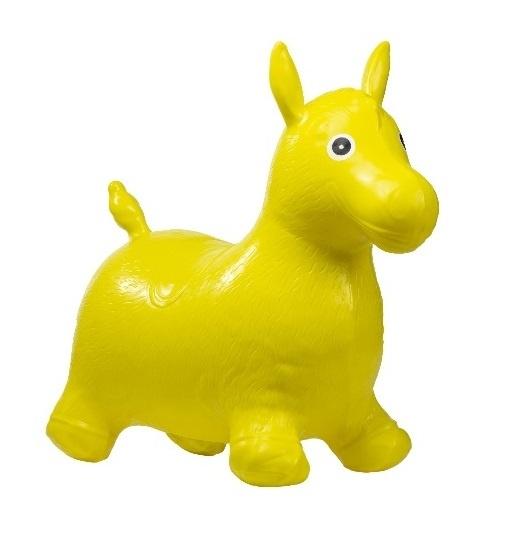 Tulimi Skákací gumové zvířátko - Koník, žluté