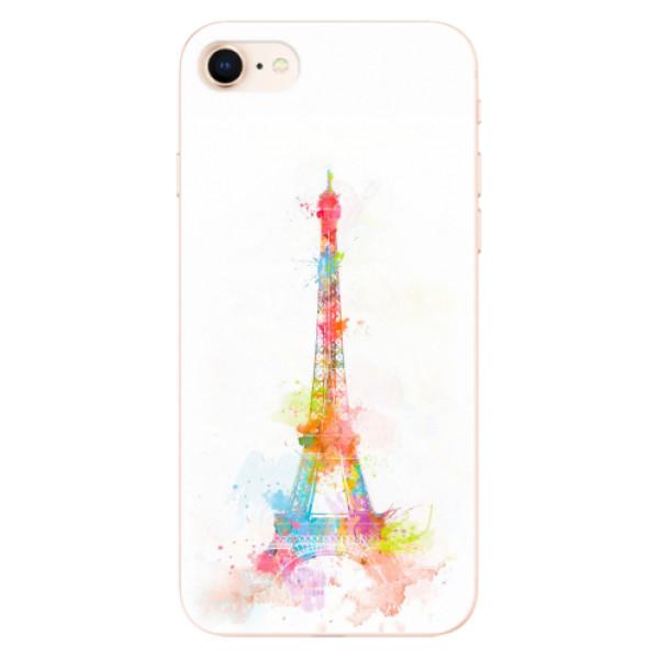 Odolné silikonové pouzdro iSaprio - Eiffel Tower - iPhone 8