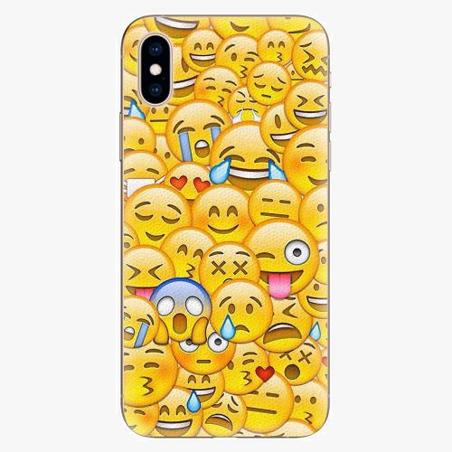 Plastový kryt iSaprio - Emoji - iPhone XS