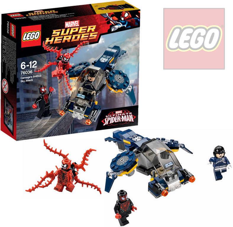 LEGO SUPER HEROES Spiderman Carnagův vzdušný útok 76036 STAVEBNICE