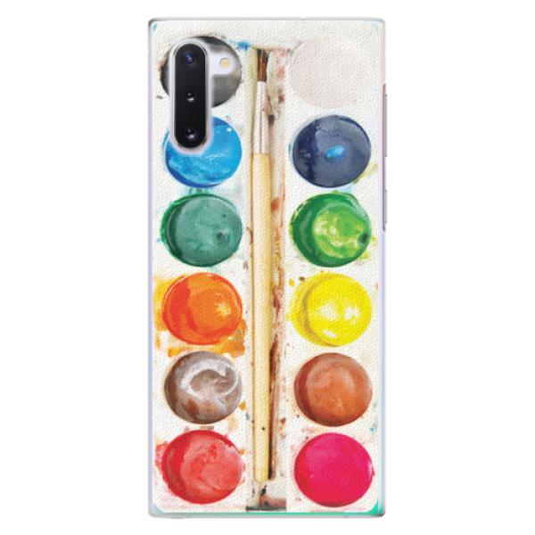 Plastové pouzdro iSaprio - Watercolors - Samsung Galaxy Note 10