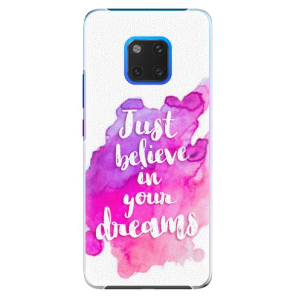 Plastové pouzdro iSaprio - Believe - Huawei Mate 20 Pro