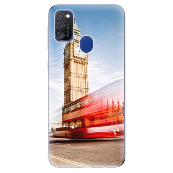 Odolné silikonové pouzdro iSaprio - London 01 - Samsung Galaxy M21