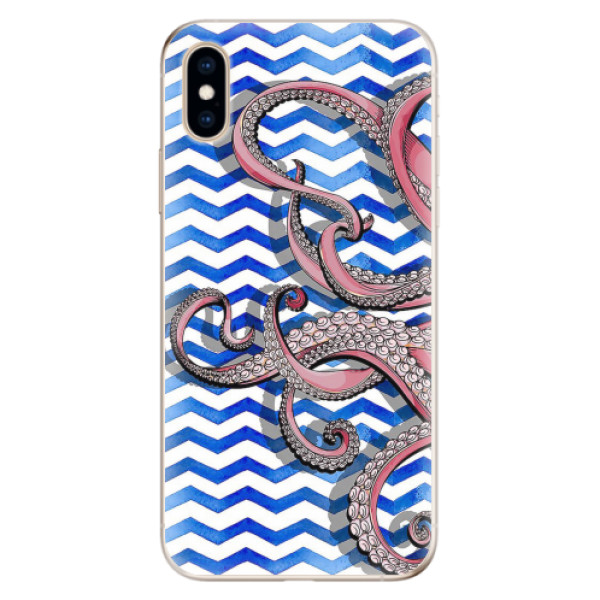 Odolné silikonové pouzdro iSaprio - Octopus - iPhone XS