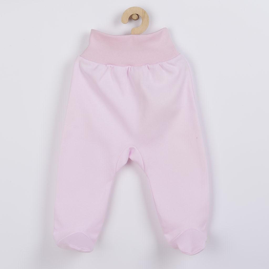 Kojenecké polodupačky New Baby - růžová/80 (9-12m)