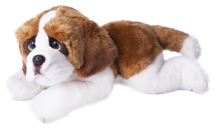 PLYŠ pes BERNARDÝN 33 cm pejsek *PLYŠOVÉ HRAČKY*
