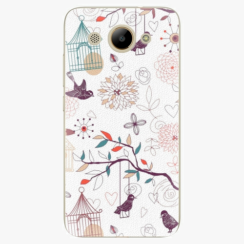 Plastový kryt iSaprio - Birds - Huawei Y3 2017