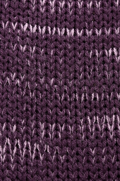 Be MaaMaa Pletený zavinovací svetřík MAMI - fialový