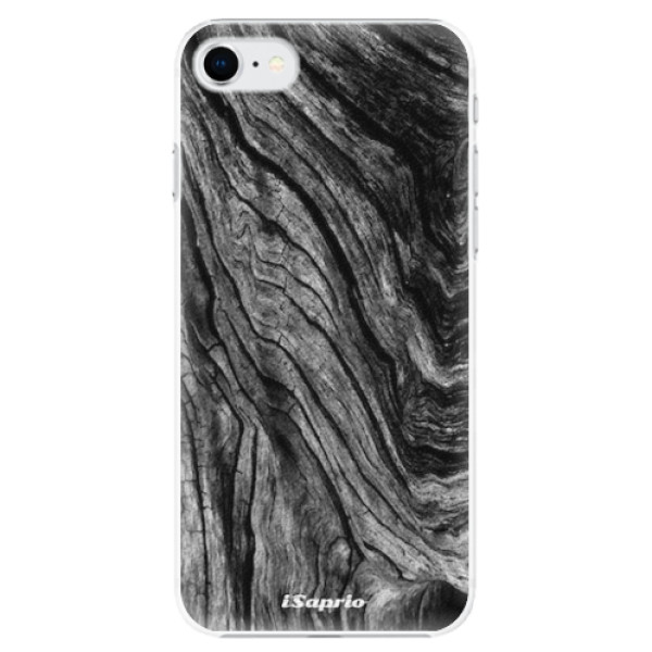 Plastové pouzdro iSaprio - Burned Wood - iPhone SE 2020