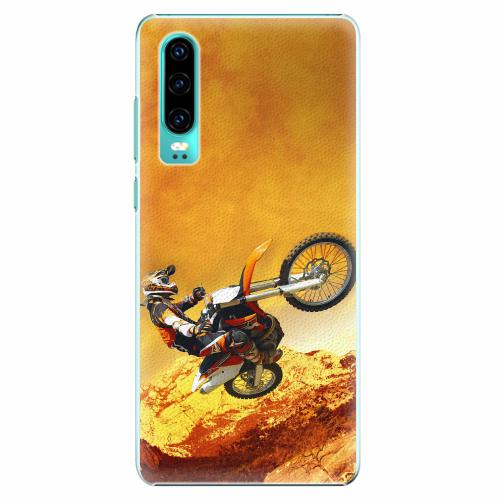 Plastový kryt iSaprio - Motocross - Huawei P30