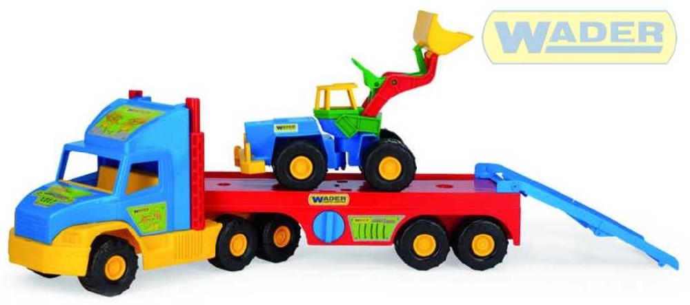 WADER Super Truck s valníkem 36520