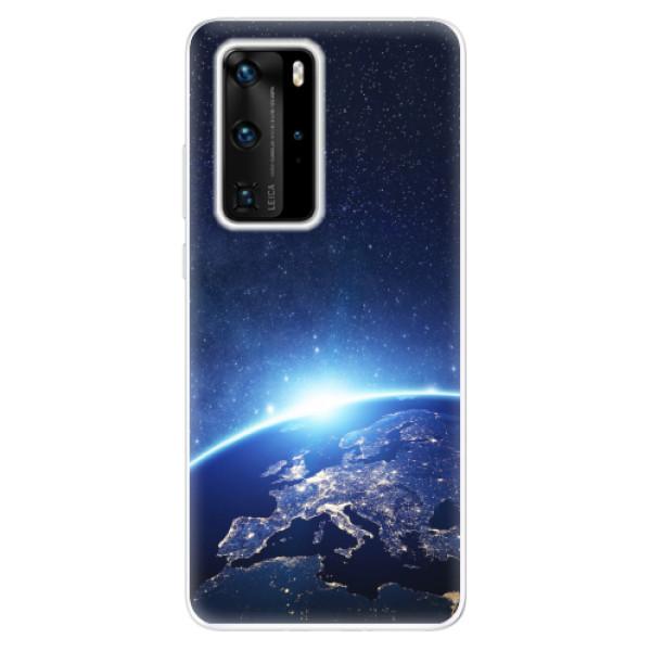 Odolné silikonové pouzdro iSaprio - Earth at Night - Huawei P40 Pro