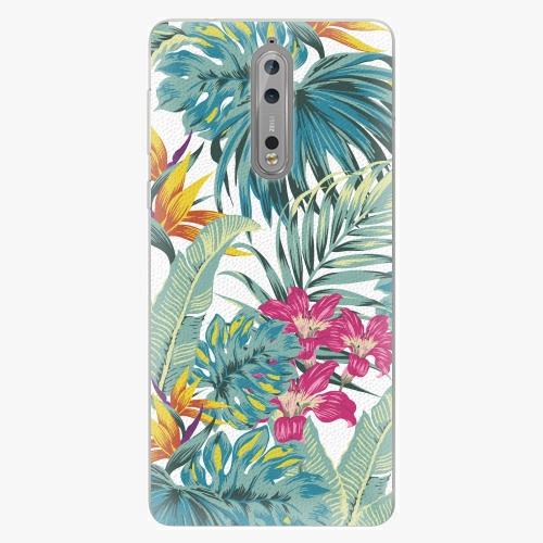 Plastový kryt iSaprio - Tropical White 03 - Nokia 8