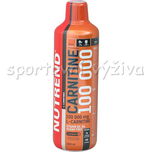 Carnitine 100000 - 1000ml-visen