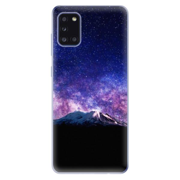 Odolné silikonové pouzdro iSaprio - Milky Way - Samsung Galaxy A31