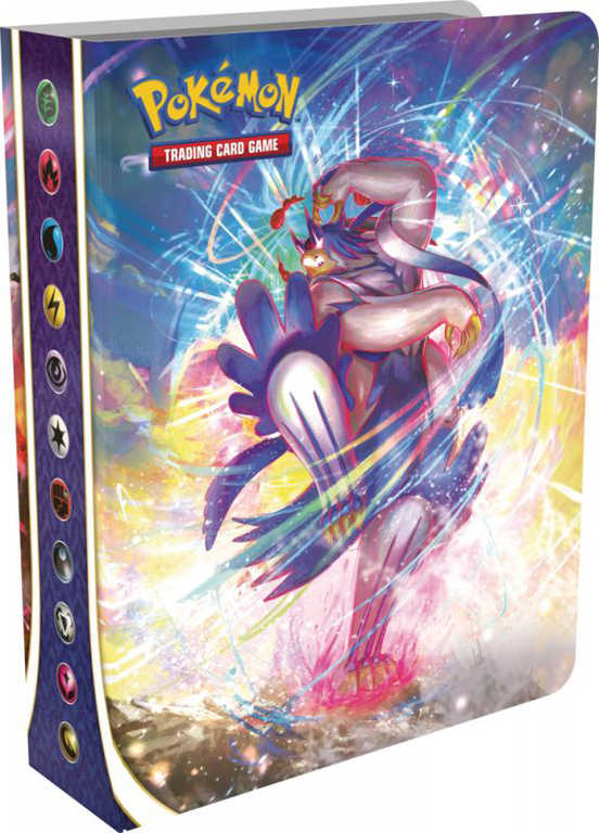 ADC Pokémon Sword and Shield: Battle Styles Mini album na 60 karet + Booster 10 karet