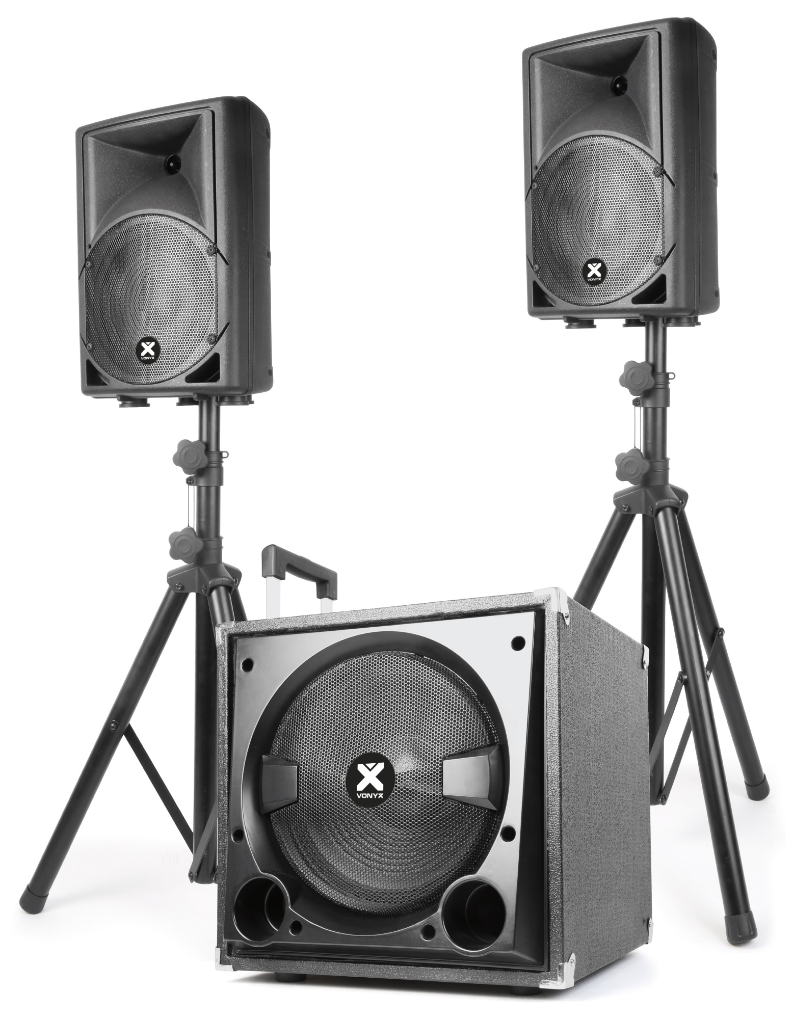 Vonyx VX800BT 2.1, aktivní zvuková sestava