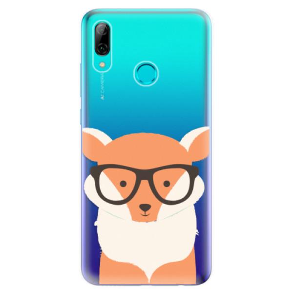 Odolné silikonové pouzdro iSaprio - Orange Fox - Huawei P Smart 2019