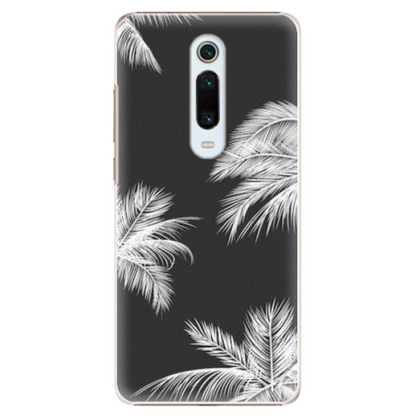 Plastové pouzdro iSaprio - White Palm - Xiaomi Mi 9T Pro