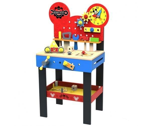 Dětský dřevěný stůl pro kutily Disney - 45 x 30 x 80 cm