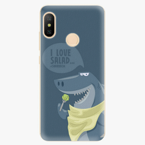 Silikonové pouzdro iSaprio - Love Salad - Xiaomi Mi A2 Lite