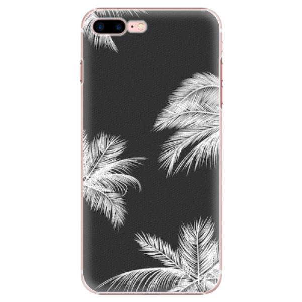 Plastové pouzdro iSaprio - White Palm - iPhone 7 Plus
