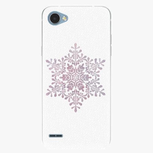 Plastový kryt iSaprio - Snow Flake - LG Q6
