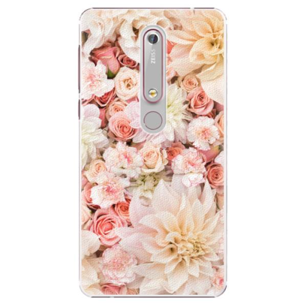 Plastové pouzdro iSaprio - Flower Pattern 06 - Nokia 6.1