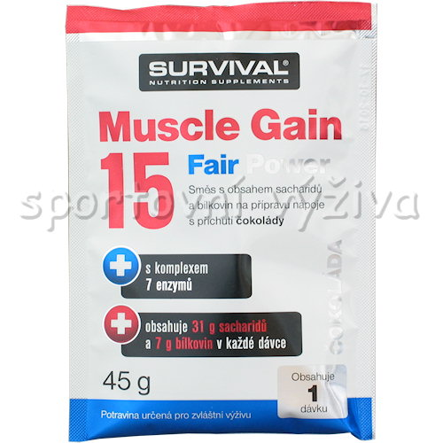 Muscle Gain Fair Power - 45g-jahoda