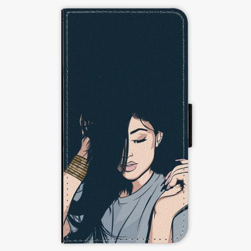 Flipové pouzdro iSaprio - Swag Girl - Samsung Galaxy S7