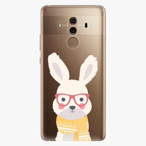 Plastový kryt iSaprio - Smart Rabbit - Huawei Mate 10 Pro