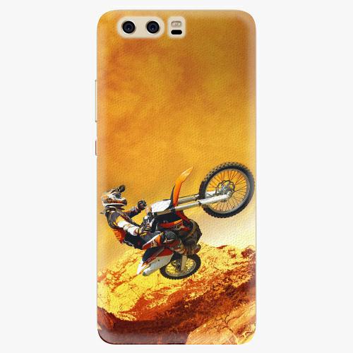 Plastový kryt iSaprio - Motocross - Huawei P10