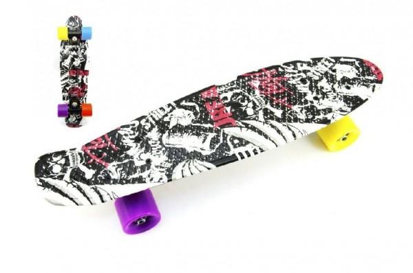 skateboard-pennyboard-60cm-nosnost-90kg-cerno-cerveny-cerne-osy-kov-kola-mix-barev
