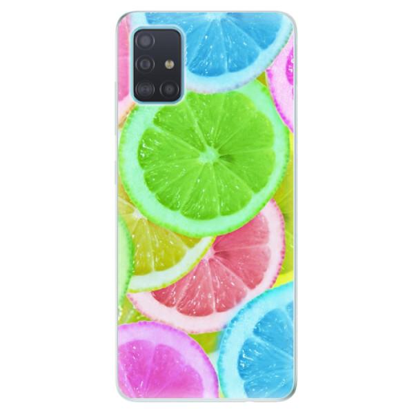 Odolné silikonové pouzdro iSaprio - Lemon 02 - Samsung Galaxy A51